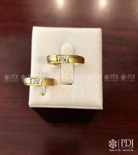 Nhẫn Đôi Nam Vàng 12K Mã 03