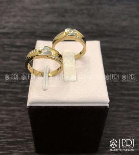 Nhẫn Đôi Nữ KOREA Mã 01