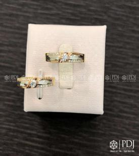 Nhẫn Đôi Nữ ITALY Mã 05