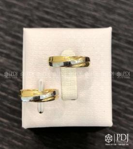 Nhẫn Đôi Nữ Vàng 15K Mã 01