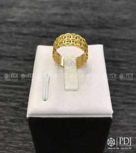 Nhẫn Kim Tiền Vàng 10K