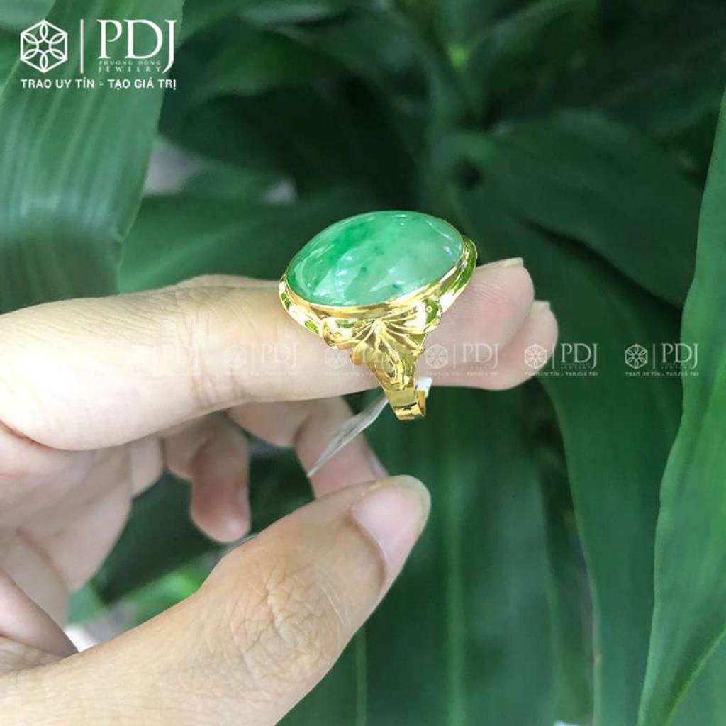 Nhẫn Ngọc Phỉ Thúy 15K