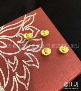 Charm Thỏi Vàng 24K