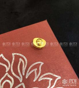 Charm Đầu Phật Bạc Ta