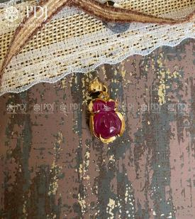 Mặt Túi Tài Lộc Ruby 10K M01