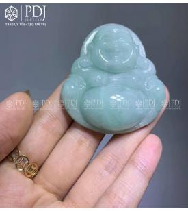 Mặt Phật Di Lặc Đá Cẩm Thạch