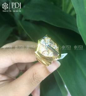 Nhẫn Mặt Kiếm 18K