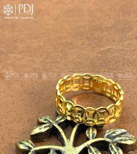 Nhẫn Kim Tiền Vàng 10K M02