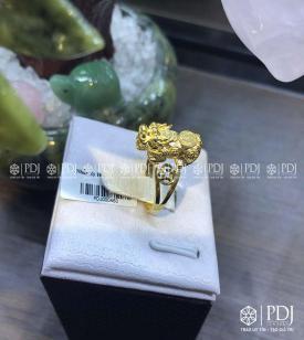 Nhẫn Tỳ Hưu Vàng 10K